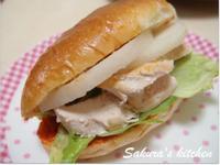 ♥我的手作料理♥韓式開胃三明治