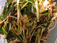 韓式涼拌蒜苗