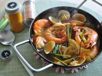 香茅薑黃海味湯