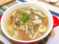 銀耳鮮菇雞柳濃湯+亞大T8銀耳