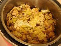 麻油雞燉飯(健康少油清爽版!)