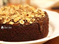 體貼的滋味~巧克力榛果蛋糕 (無麵粉)