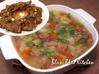 翼板二部曲- 牛油香蒜牛排VS蔬菜清燉牛肉湯