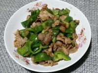 沙茶青椒豬肉♡