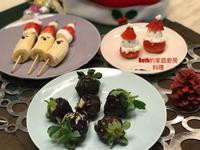 聖誕節的草莓點心 - 零廚藝