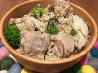 【寶寶食譜】菇菇雞肉燉飯