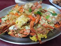 螃蟹洋蔥蛋