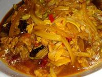白菜炒肉(家常菜)