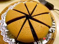 咖啡輕乳酪蛋糕(6吋、無奶油)