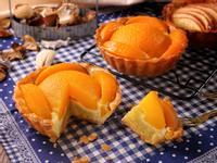 杏仁奶油水蜜桃塔