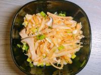 清爽蔬食~ 涼拌洋蔥杏鮑菇