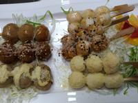 香烤魚丸串