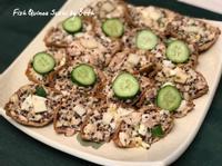 胖睡魚壽司 - 鯛魚藜麥豆皮壽司