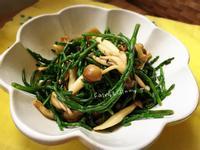 蒜香海蘆筍鴻喜菇(便當菜)