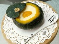 南瓜牛奶燉蛋