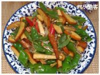 糯米椒炒小魚豆干