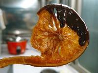 糖漬巧克力橙片