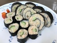 馬鈴薯鮭魚卷(胖胖魚壽司)