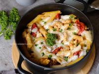 油漬番茄Mozzarella雞肉焗烤麵
