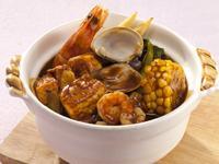 咖哩海鮮豆腐煲