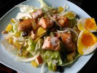 冰火香鮭(鮭魚蔬果沙拉)