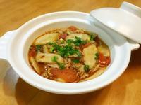 沙茶蕃茄豬肉菇菇煲(諸事如意,幸福滿滿)