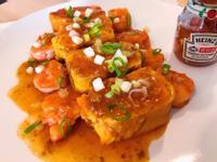 超簡單-甜辣茄汁蝦醬雞蛋卷