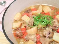 馬鈴薯燉肉~簡易鑄鐵鍋料理~