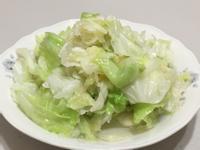 花生油清炒高麗菜