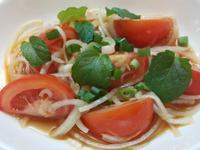 【極簡】蕃茄拌沙拉 @佐肉解油膩