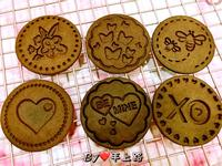 《應景情人節》可可情人款餅乾