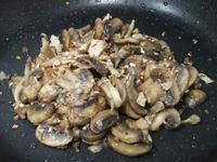 香料蘑菇炒肉絲 家常快炒料理