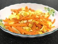 玉米紅蘿蔔炒蛋