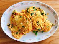 沒有紅蘿蔔生味的炒蛋,出菜立刻掃光