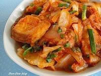 [韓式]泡菜鯛魚燒