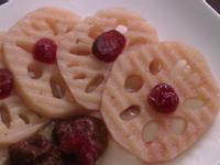 涼拌冰梅蓮藕片