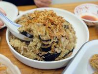 年菜預備備 - 櫻花蝦油飯
