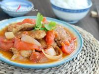 【簡易家常菜】蕃茄燴豬排