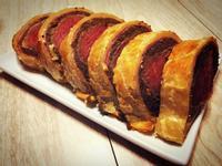 威靈頓牛排-從酥皮開始+紅酒醬(氣炸鍋可