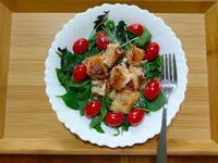 減脂特餐-烤鮭魚貝比沙拉