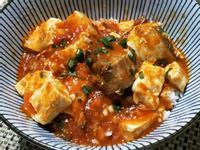 茄汁鯖魚燴豆腐♡