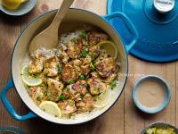 一鍋到底,蒙特屢檸檬醬汁:希臘檸檬雞燉飯