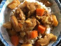 梅花豬咖哩飯(佛蒙特咖哩)