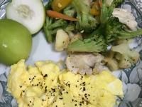 歐姆蛋輕蔬早午餐(無米麵)