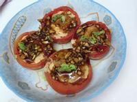 簡單料理「鯖魚蕃茄盅」