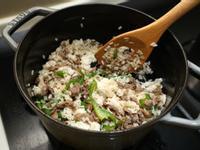 青椒牛肉炒飯。簡易食譜