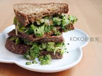 鈣健康青花起司三明治