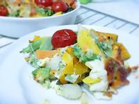 早午餐焗烤蛋蛋蔬菜(無油料理)