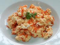紅蘿蔔絲炒蛋 炒水蛋 清粥小菜 家常便當