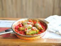 烤茄醬高麗菜卷